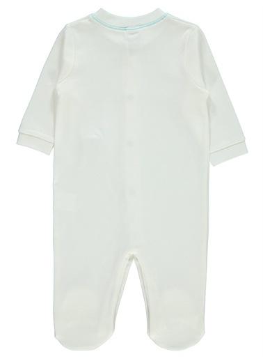 Misket Misket Kız Bebek Patikli Tulum 0-3 Ay Mavi Misket Kız Bebek Patikli Tulum 0-3 Ay Mavi Turkuaz